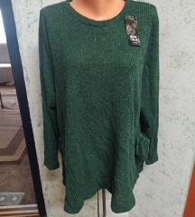 REZERVIRANO/Nova zelena tunika/haljina