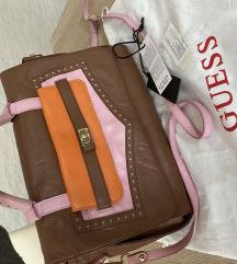 Guess Luxe kožna torba (original)