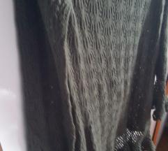 Top Shop vunena čipka haljinica
