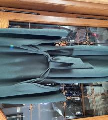 Zara haljina tamnozelena S velicina sniženo!