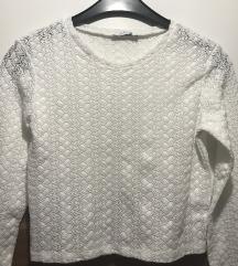 Bijela nova Zara bluza