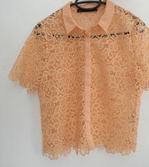 Čipkasta bluza Zara