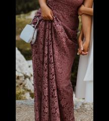 Svečana čipkana haljina