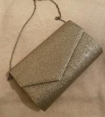 Zlatna torbica NOVO S ETIKETOM