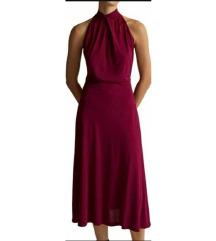 Massimo Dutti ciklama haljina