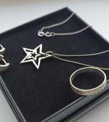 LOT vintage srebrnog nakita