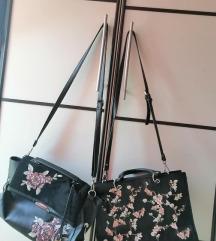 Lot dvije torbe, lijeva Deichmann desna Mango