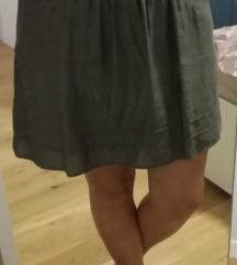 Zelena suknja - SVILA - SAMO 80KN!