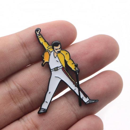 Freddie Mercury broš