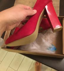 Shoebox crvene štikle