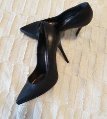 Cipele na petu prava koža