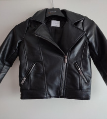 Kožna jakna za djevojčice, 116