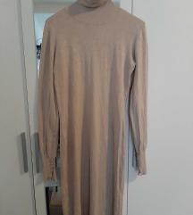 Sinsay haljina uska krem
