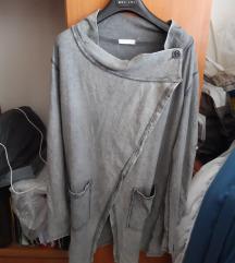 Siva majica vesta