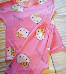 Komplet lagana ugodna pidžama hello kitty