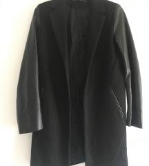 Kao nov Zara crni kaput vel S/M