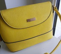 Mala žuta nova torbica