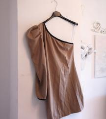 Haljina na jedno rame vintage look