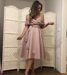 Puder roza haljina 38