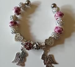 Charms bracelet - Anđeli