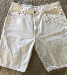 Bijele muške kratke hlače