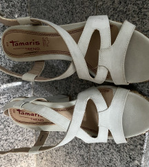 Tamaris sandale koža