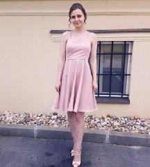 Svecana roza haljina