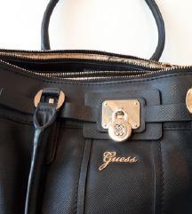 Original Guess crna velika prostrana torba