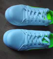 SNIZENO Bijele/neon tenisice, 39