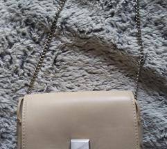 Krem torbica Zara