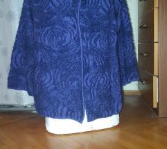 CRO DESIGN vunena pelerina pulover M-XL