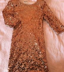 Šljokičasta koktel haljina