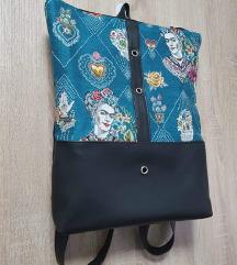 Novi Simone Design plavi ruksak-Frida