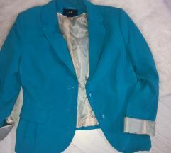 SNIŽENJE! NOVA CIJENA 30kn! Plavi H&M sako