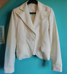 Bijeli sako sa sitnim uzorkom