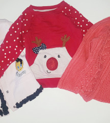 Lot majica YD, Disney, H&M 12mj