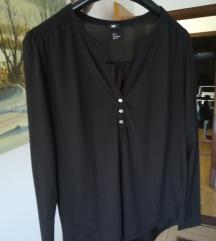 Crna jednostavna košulja vel S