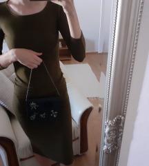 Maslinasta topshop haljina