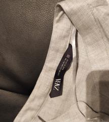 Zara kosulja s džepovima i etiketom