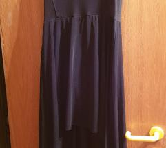 Crna haljina od tila