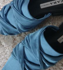 Zara saten papuce