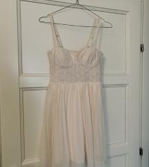 H&M mini haljina korzet