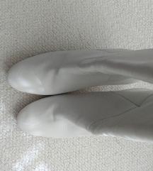Mango bijele kozne cizme 40/41 novo