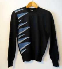 Angora vintage pulover, osamdesete
