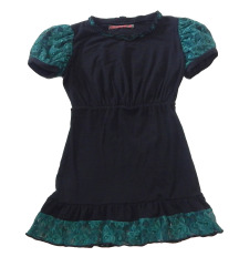 Crno-zelena majica