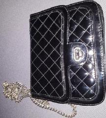 Zenska crna torbica jeftino