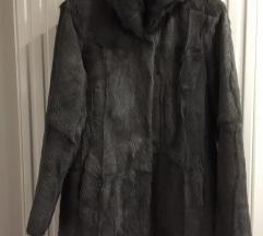 MARELLA -siva bunda od pravog krzna