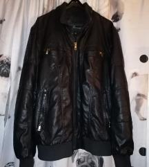 Muška kožna jakna L