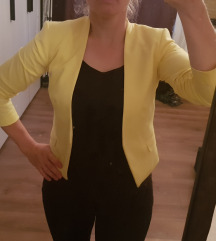 H&M žuti sako 34