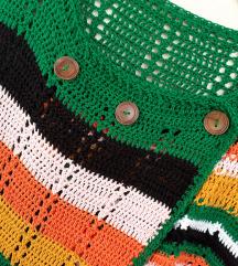 NOVI zeleni kardigan like Benetton L